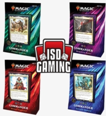 Commander 2019: Set of 4 (STORE)